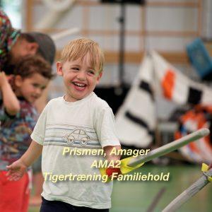 Tigertræning-AMA2 – 4-6 årig Familiehold for børn og voksen i Prismen
