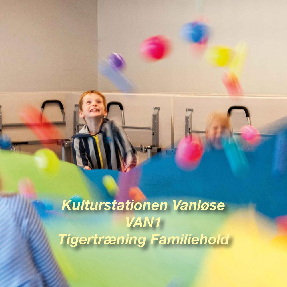 Tigertræning-VAN1 – 2½-3 årig Familiehold for børn og voksen i Vanløse