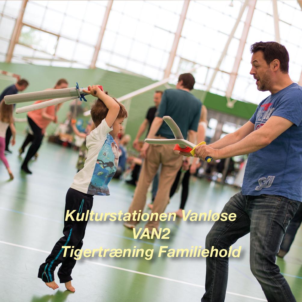 Tigertræning-VAN2 – 4-6 årig Familiehold for børn og voksen i Vanløse