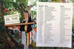 Tigertræning i festlig udgave med levende musik