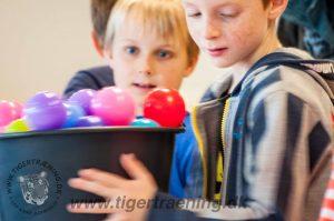 Tigertræning Tigerbold for institutioner i KBH Kommune - Åbendagtilbud