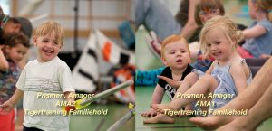 Tigertræning-AMA – Familiehold for børn og voksen i Prismen