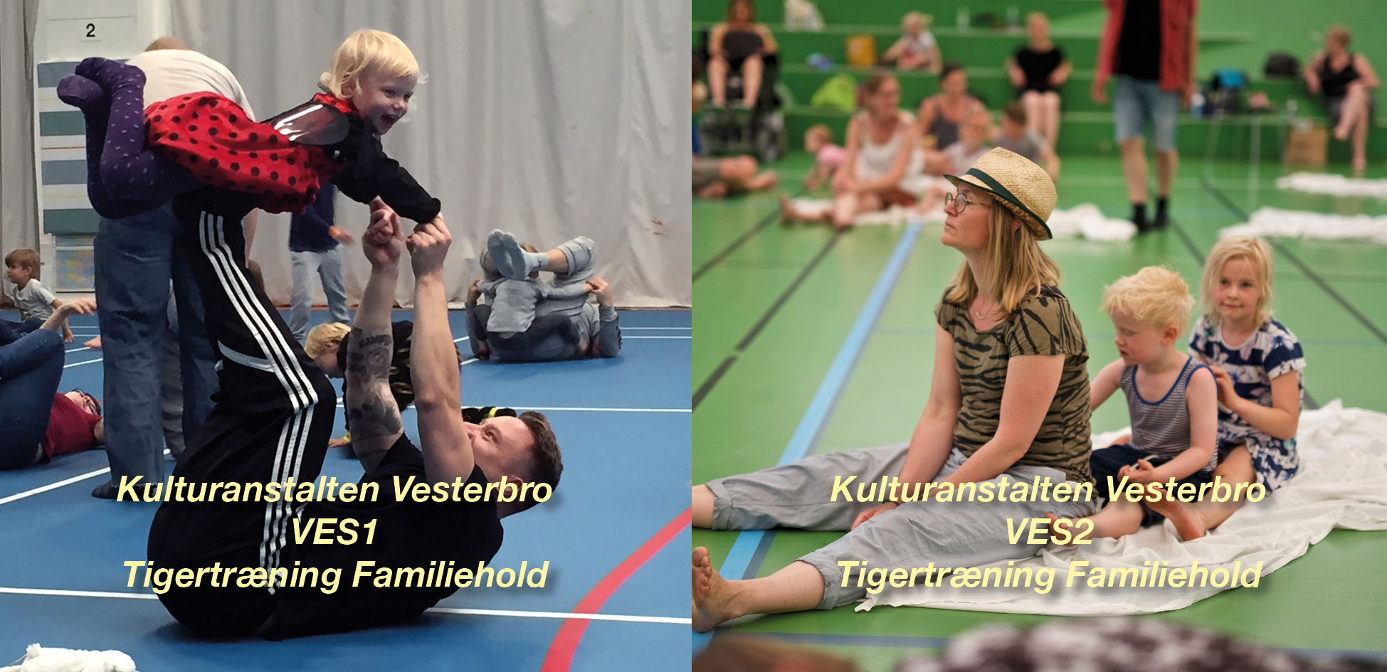 Tigertræning-VES – Familiehold for børn og voksen – Vesterbro