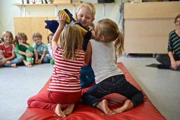 Tigertræning Bjørnelege for institutioner i KBH Kommune - Åbendagtilbud