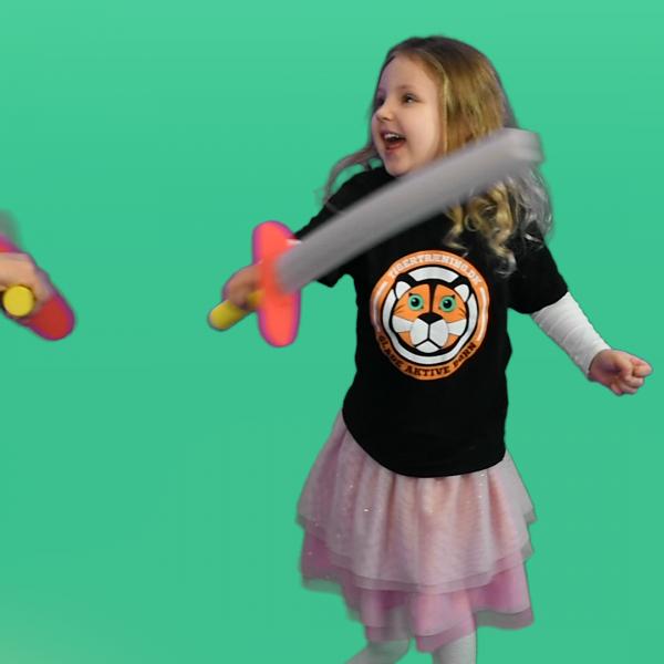 Familieklub – Tigertræning online for hele familien